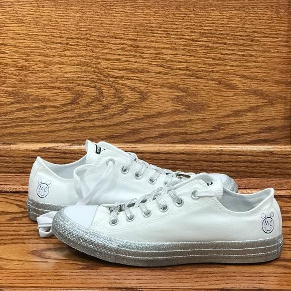 57a2644c1c6f4f Converse X Miley Cyrus CTAS Ox White Pure Platinum
